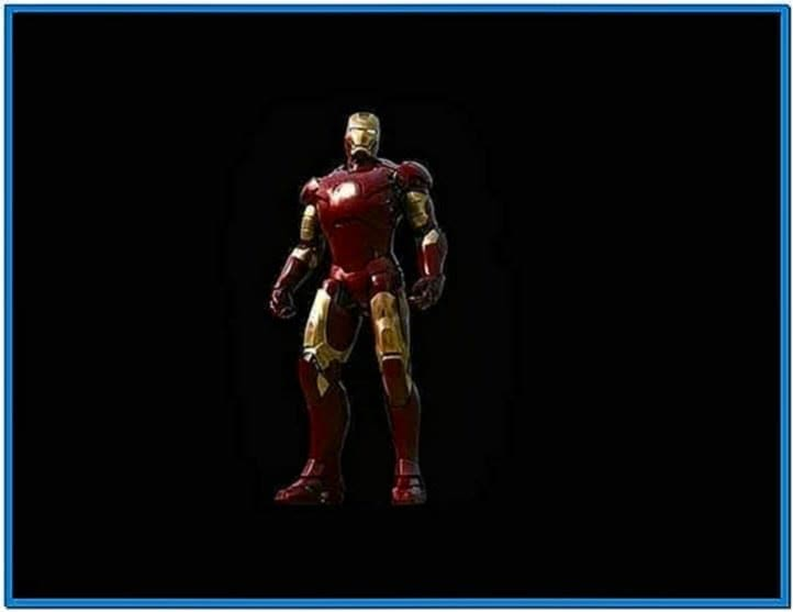 Iron man 2 screensaver Mac