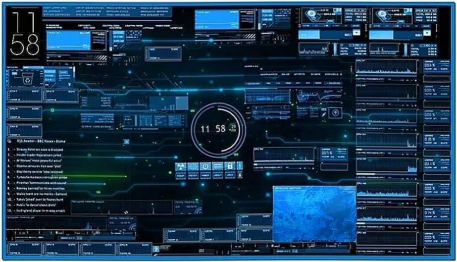 Jarvis Desktop Screensaver