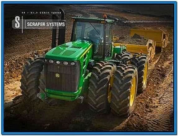 John Deere Construction Screensaver