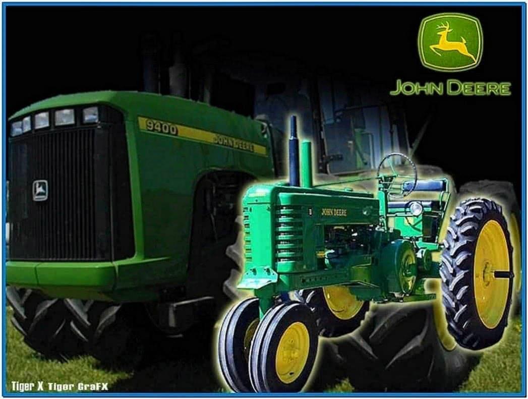 John Deere Tractor Screensaver