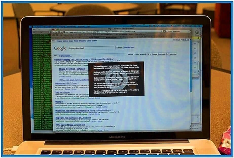 Kernel Panic Screensaver Snow Leopard
