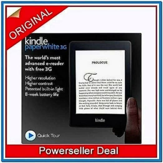 Kindle 3G Includes Special Offers Sponsored Screensavers