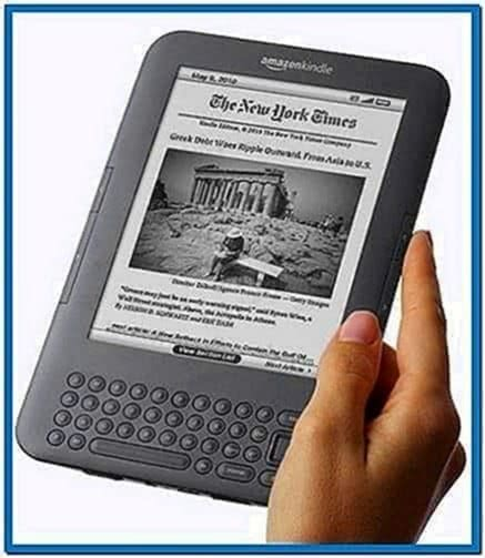 Kindle 3G Sponsored Screensavers