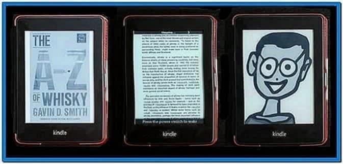 Kindle 4 Screensaver Hack Blank Screen