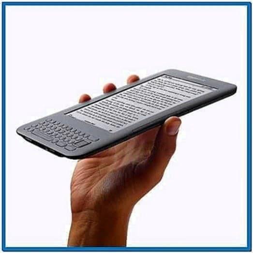 Kindle Keyboard Sponsored Screensavers