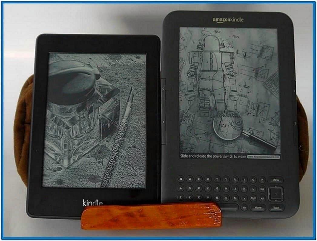Kindle Paperwhite Screensavers