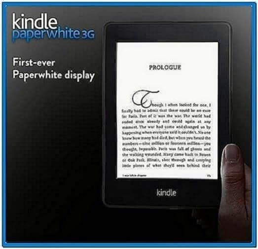 Kindle Touch 3G Screensavers