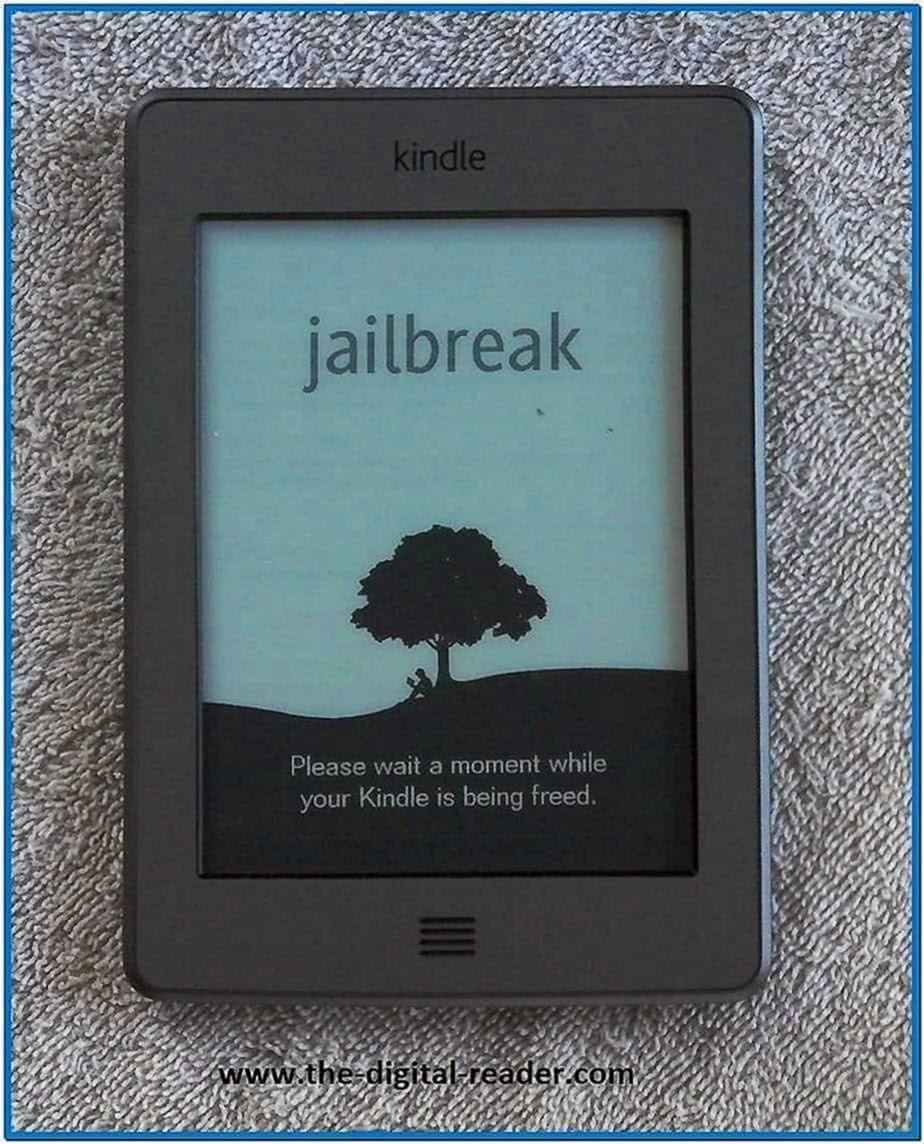 Kindle Touch Screensaver Hack