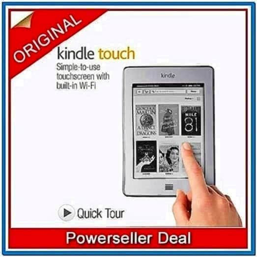 Kindle Touch Sponsored Screensavers
