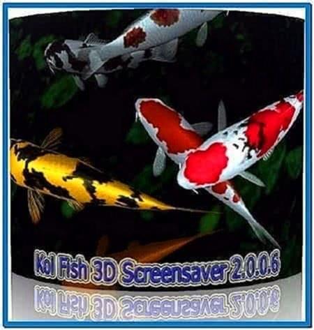 Koi Fish 3D Screensaver 2.0.0.6