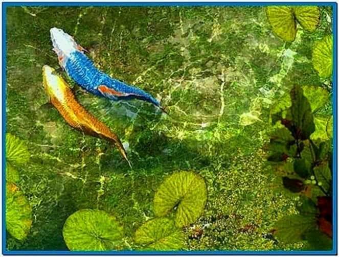 Koi Fish 3D Screensaver Full Version
