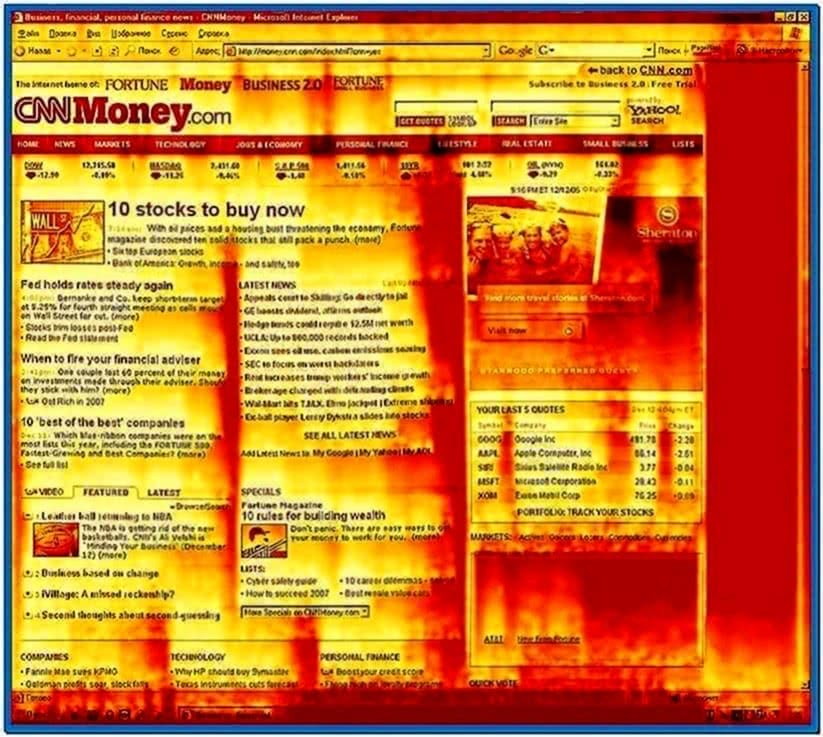 Laconic Software Fire Screensaver