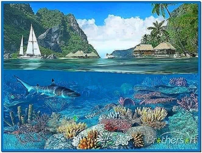 Lagoon 3D Screensaver 1.0