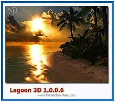Lagoon 3D Screensaver 1.0.0.6