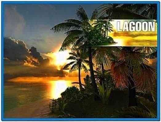 Lagoon 3D screensaver 1.0.0.6 software