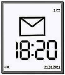 Large Time Screensaver N95