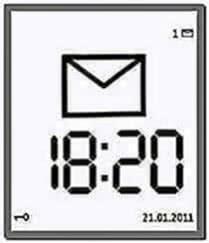 Large Time Screensaver N95