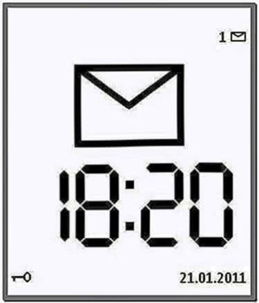 Large Time Screensaver S60 5rd Edition