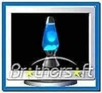 Lava lamp screensaver Windows 8