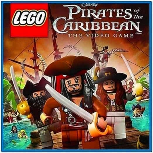 Lego Pirates of The Caribbean Screensaver