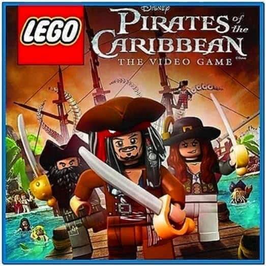 Lego Pirates of The Caribbean Screensaver