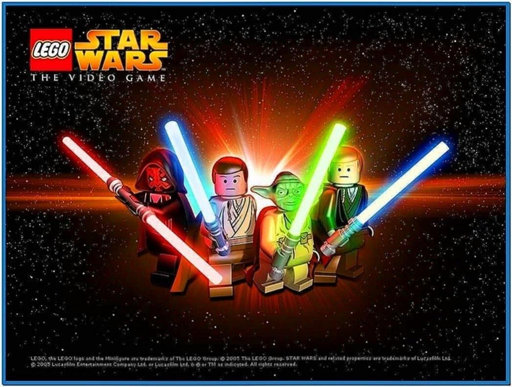 Lego Star Wars Screensaver
