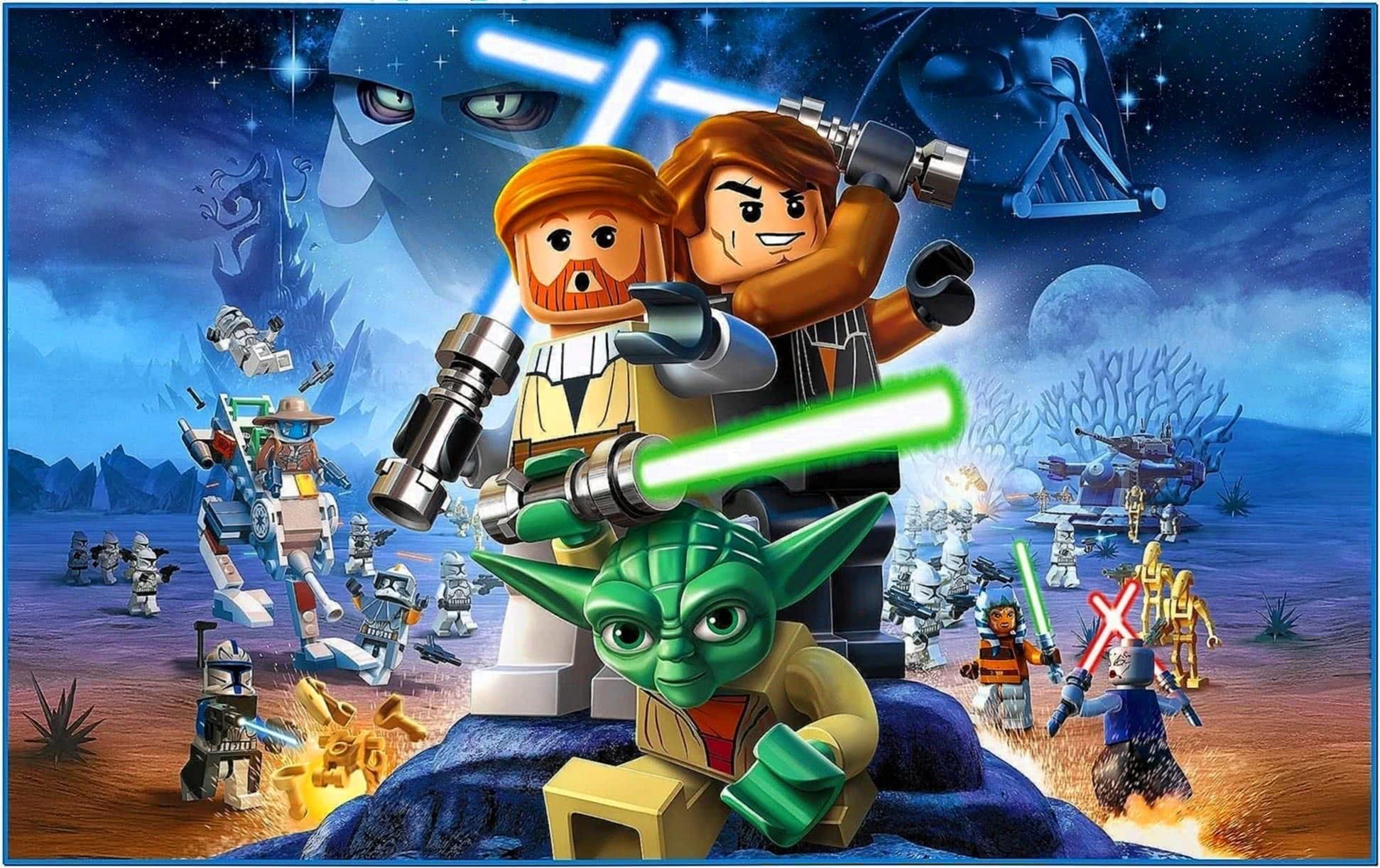 lego star wars screensaver  download free