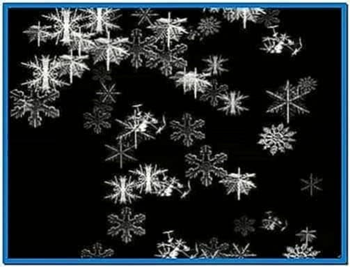 Let It Snow Mac OS X Screensaver