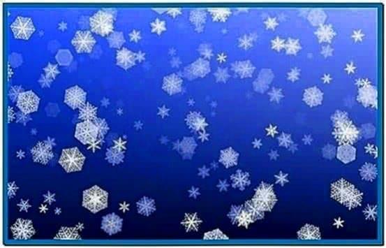 Let It Snow Screensaver Mac