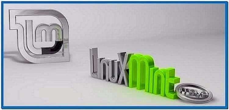 Linux Mint Maya Screensaver