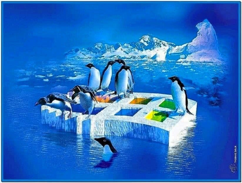 Linux screensaver Windows 7