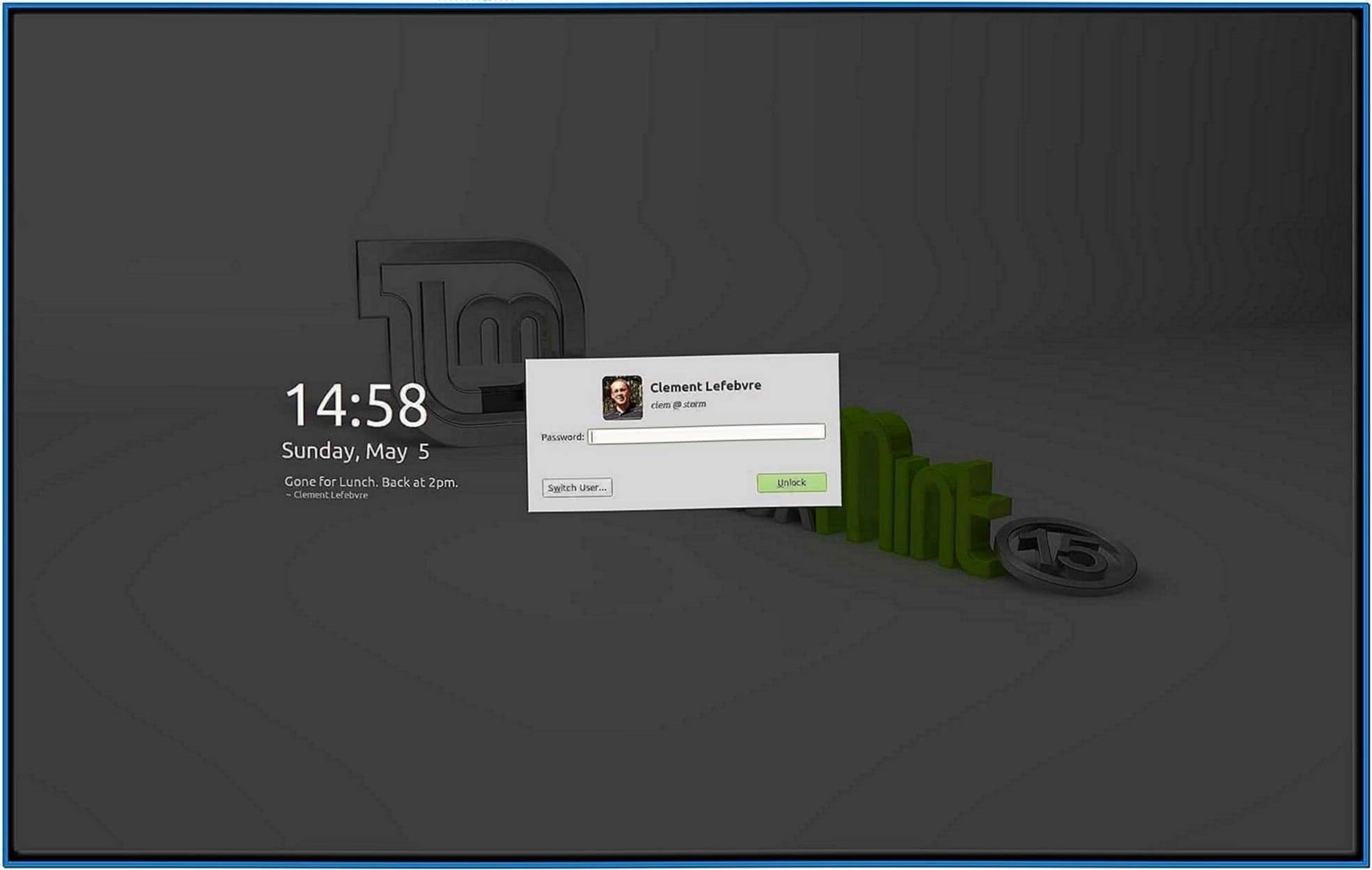 Linux Shell Screensaver