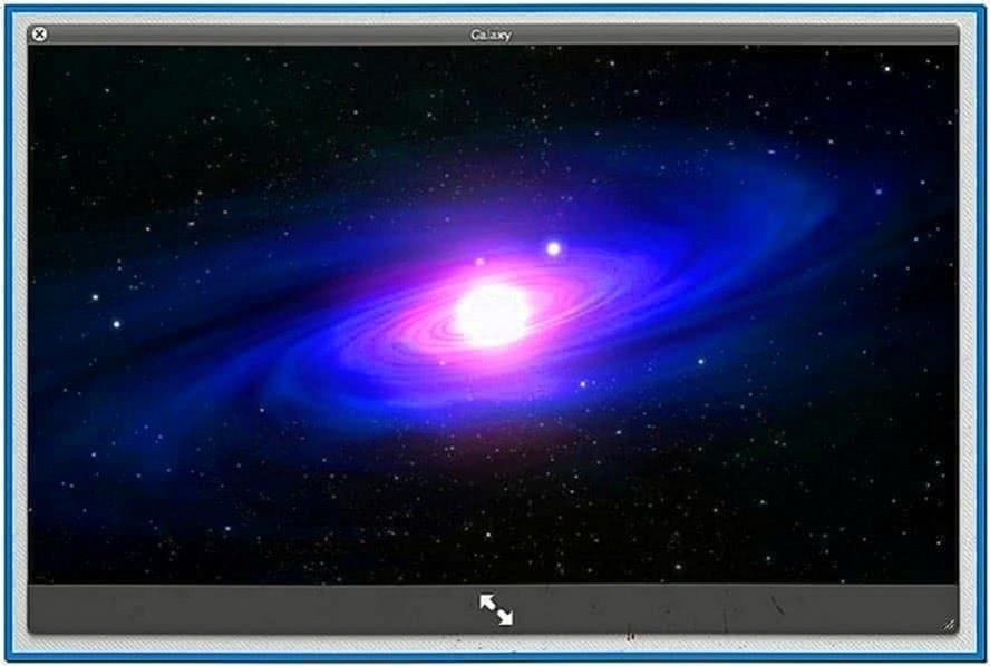 Lion Galaxy Screensaver Mac