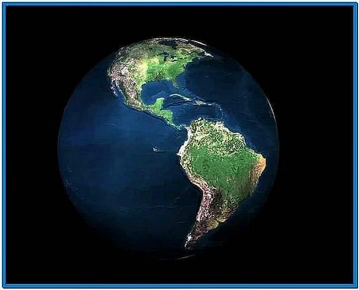 Live 3D Earth 1.8 Screensaver