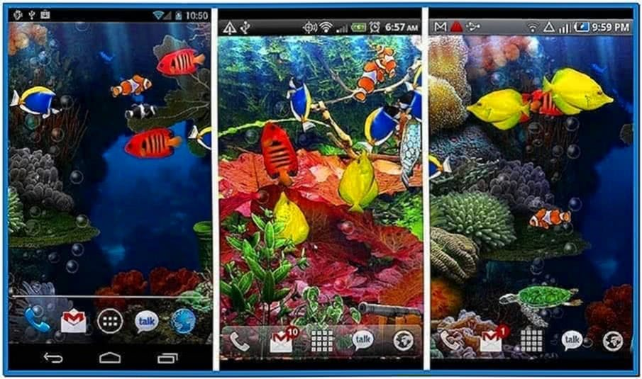 Live Fish Aquarium Screensaver
