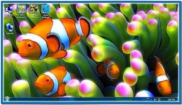Live Fish Tank Screensaver