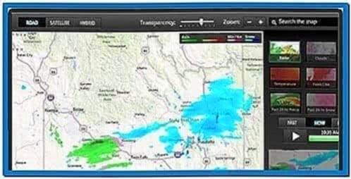 Live Weather Radar Screensaver