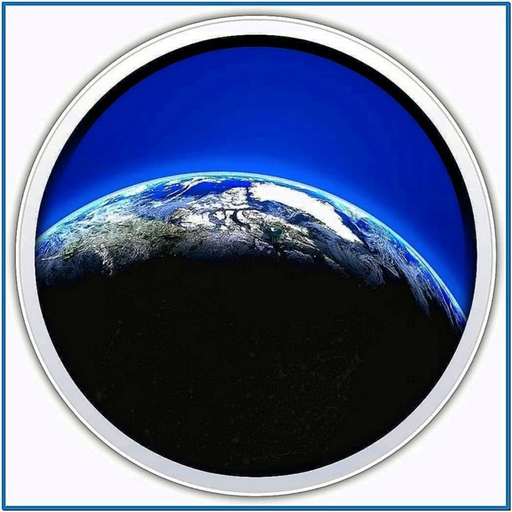 Living Earth Screensaver Mac