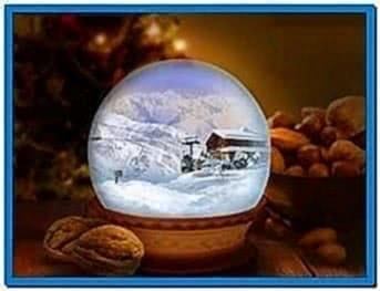 Living Snow Globe Screensaver