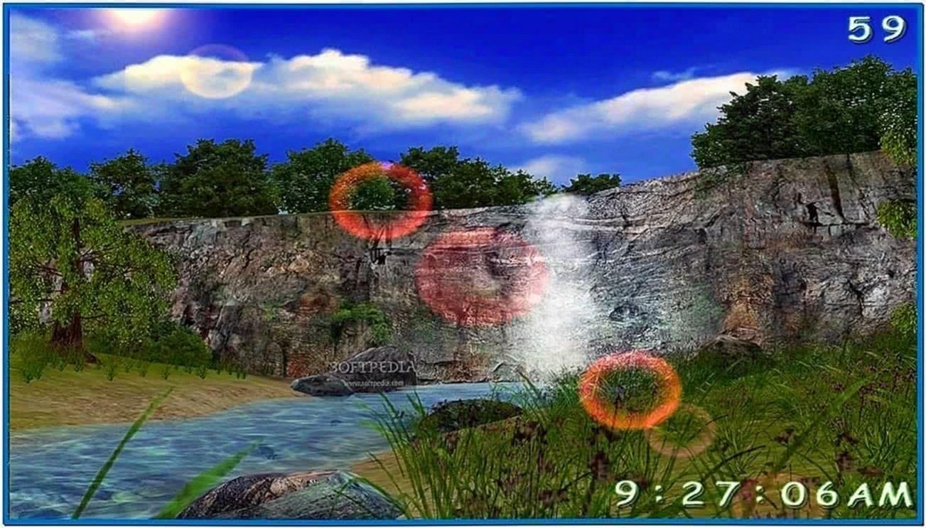 Living Waterfall Screensaver Windows 7