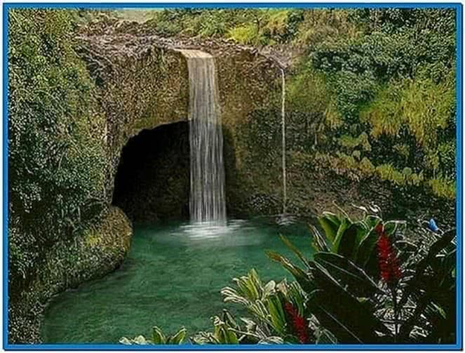 free living waterfalls animated wallpaper