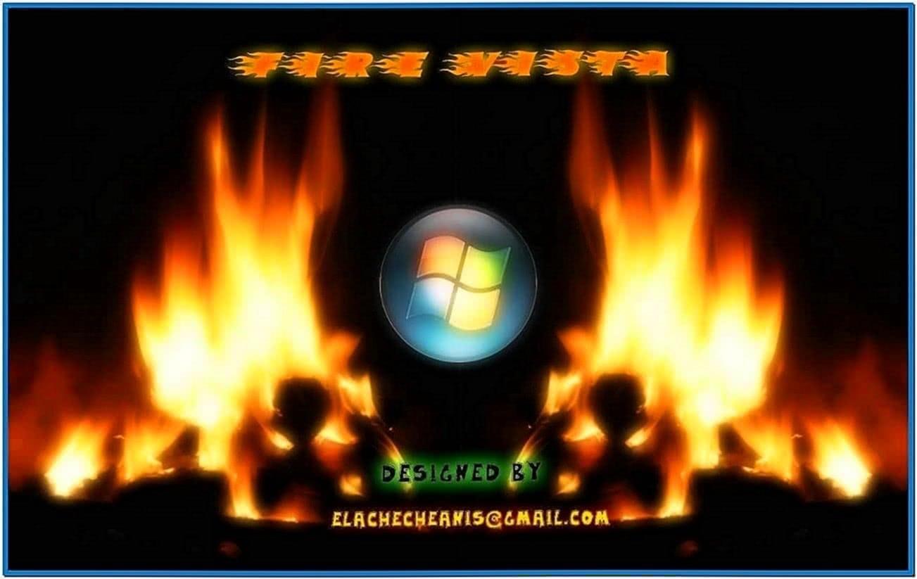 Log Fire Screensaver Ubuntu