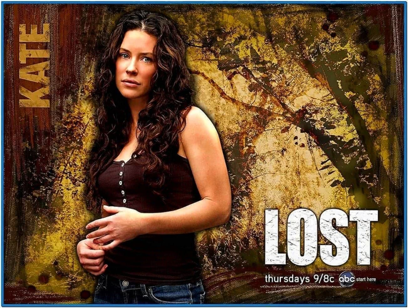 Lost TV Show Screensaver