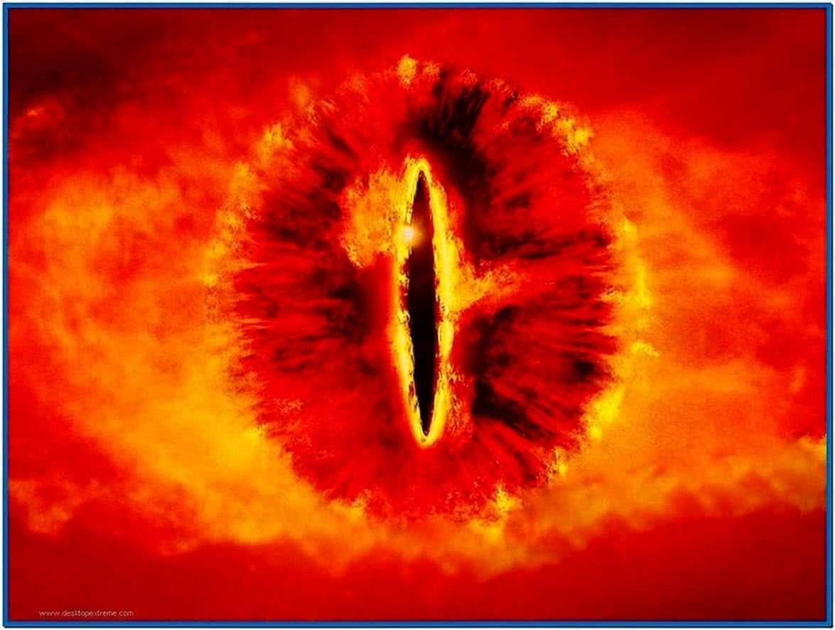 Lotr Screensaver Eye