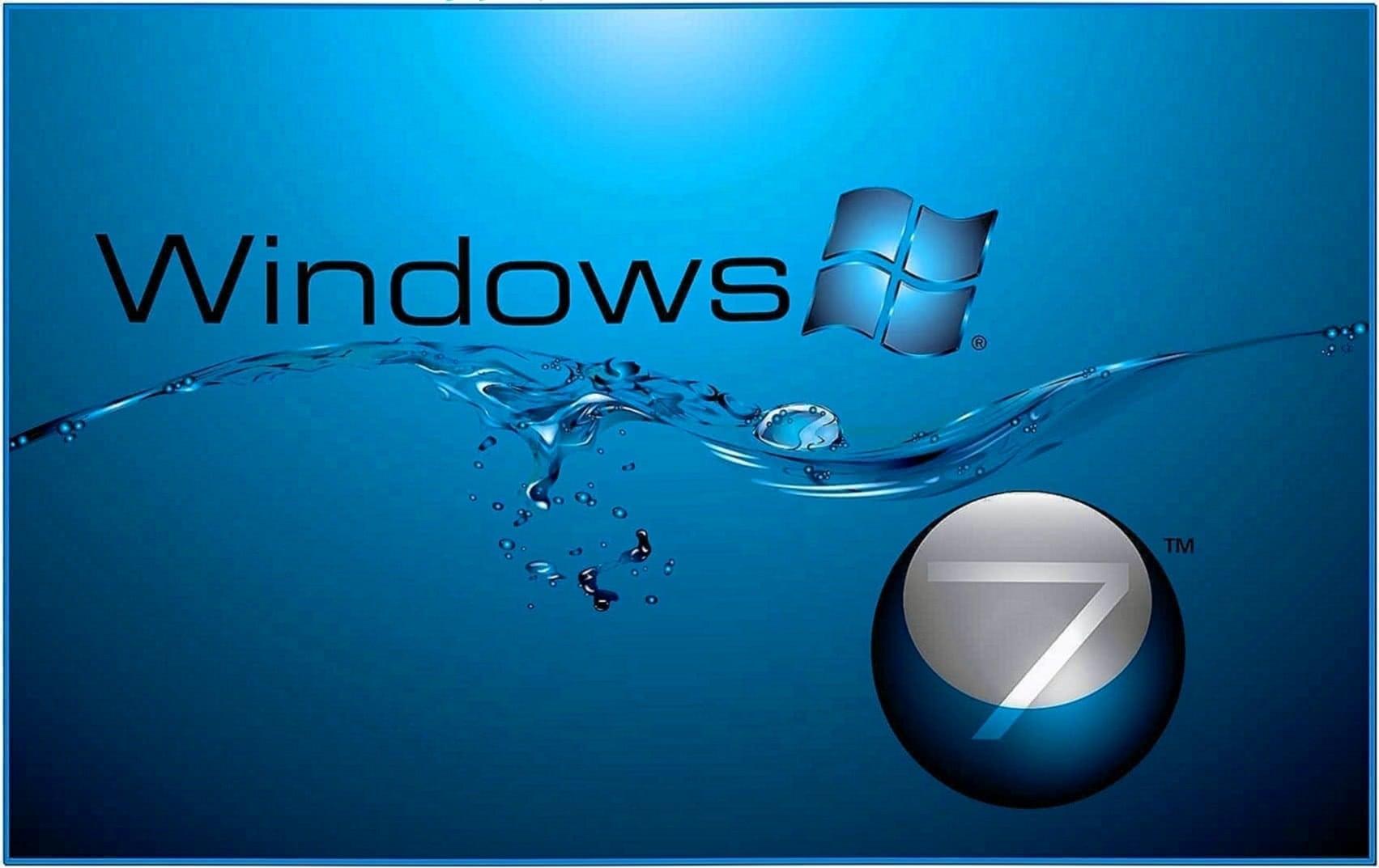 Lots of Water Screensaver Windows 7
