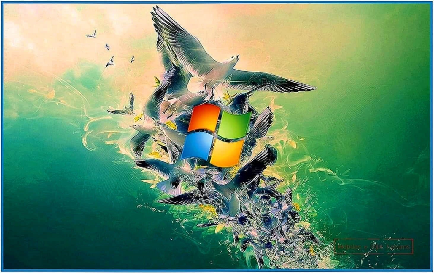 Lots of Water Screensaver Windows 8