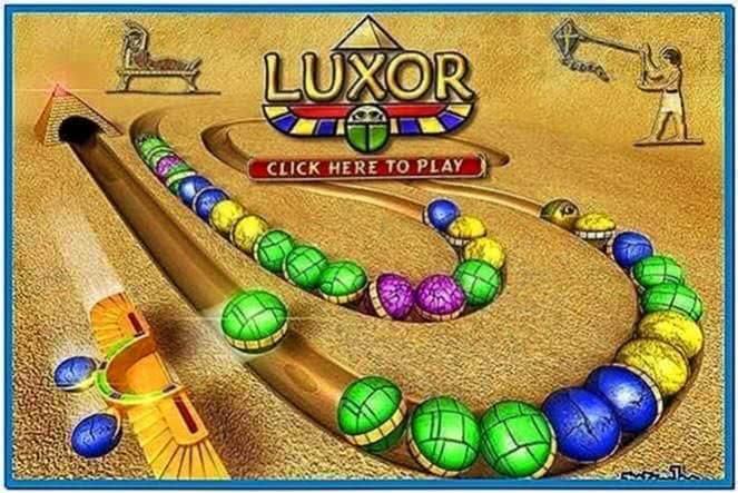 Luxor Game Screensaver 1.0.