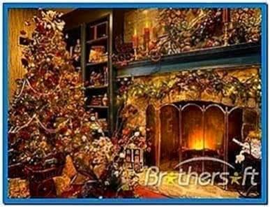 Mac Christmas Fireplace Screensavers