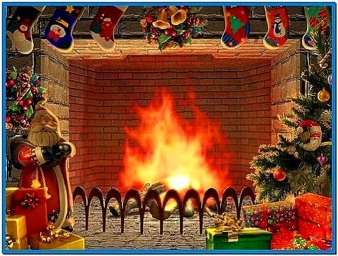 Mac Christmas Fireplace Screensavers