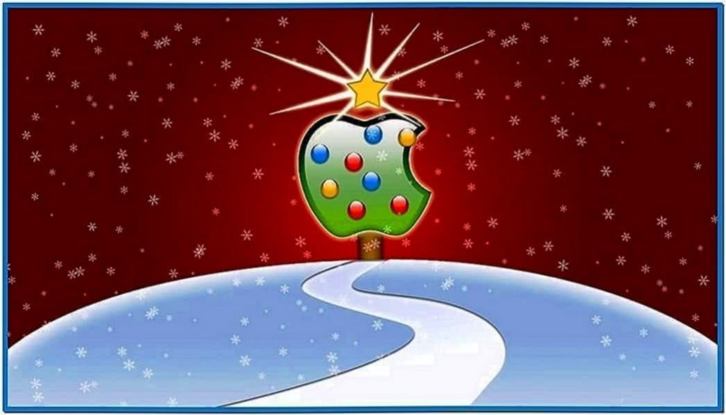 Mac Christmas Screensaver Animated
